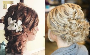 black-and-blonde-half-up-wedding-hairstyles