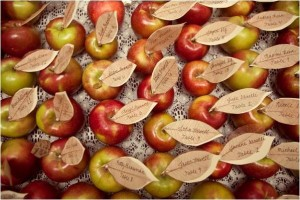 gay-fall-wedding-apple-escort-cards