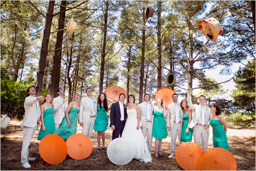 Stunning Teal And Orange Wedding Colors Pictures - Styles & Ideas ...