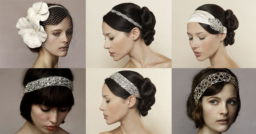 What About A Headband Instead Of Wedding Veil The Above Photo Offers Some Beautiful Choices From Ornamental White Flower To Slim Regal