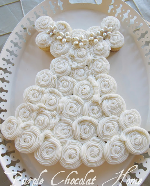 Wedding Gown Cupcake Cake Archives