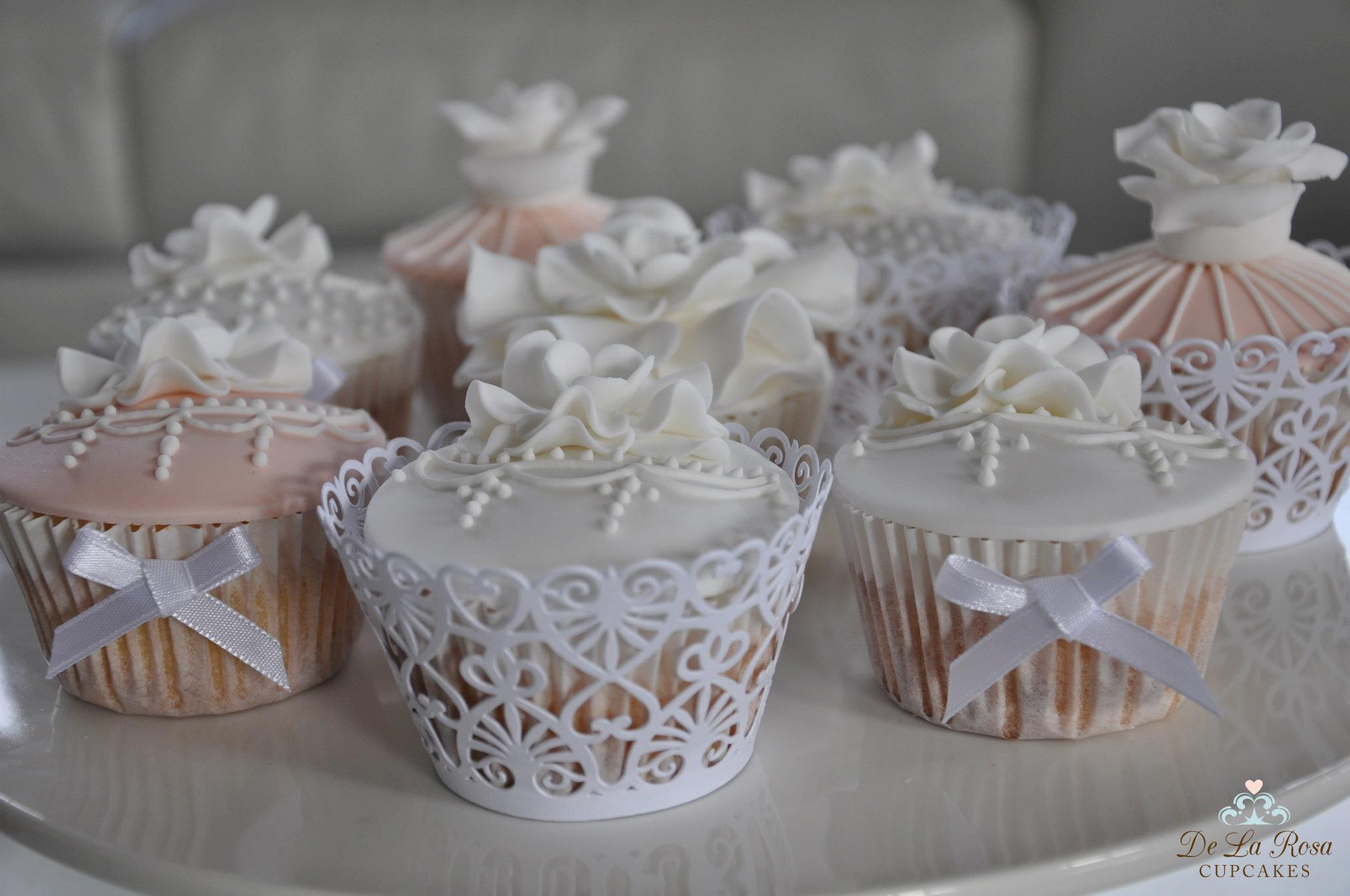 Wedding Cupcakes - time to revisit this beautiful option...