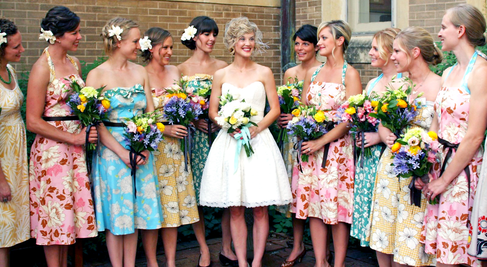 Dress-Your-Bridesmaids-In-Bright-Colors-4