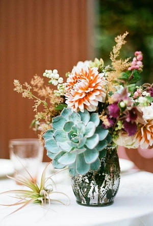 succulent-and-dahlia-wedding-centerpiece