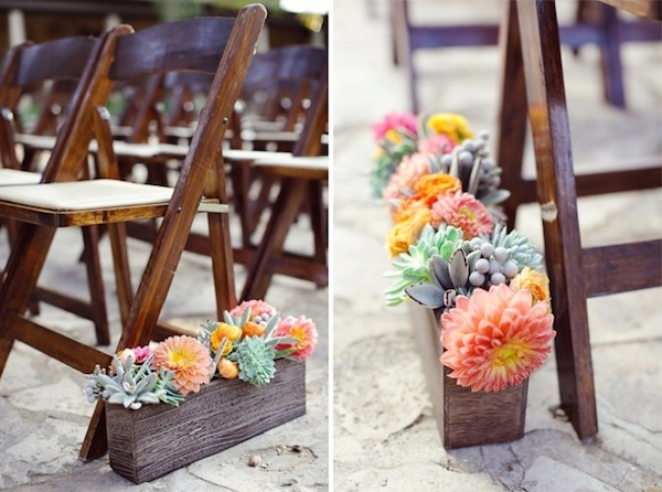 wedding-aisle-decoration-with-succulents-and-flowers
